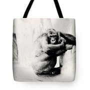 Gorilla Unamused Tote Bag