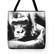 Gorilla Vogue Tote Bag