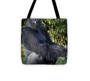Gorillas In The Mist Tote Bag