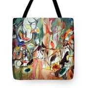 Gorky's One Year The Milkweed Tote Bag