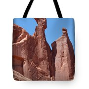 Gossips At Arches National Park Tote Bag