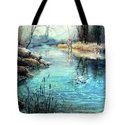 Gotcha Tote Bag by Hanne Lore Koehler