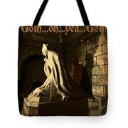 Goth Poster Tote Bag