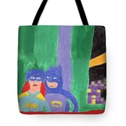 Gotham Heroes  Tote Bag by Don Larison