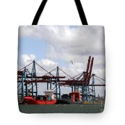 Gothenburg Harbour 07 Tote Bag