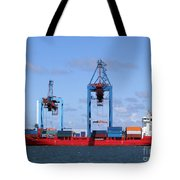 Gothenburg Harbour 09 Tote Bag