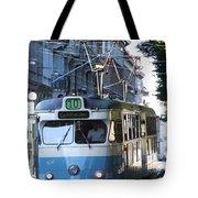 Gothenburg Tram 01 Tote Bag