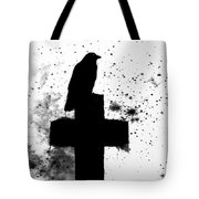 Gothic Black And White Tote Bag