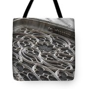 Milan Gothic Cathedral Apse Window Tote Bag