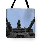 Milan Gothic Cathedral Gargoyles Tote Bag