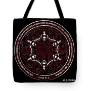 Gothic Celtic Mermaids Tote Bag