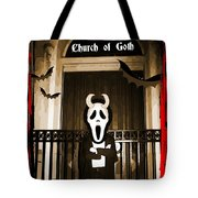 Gothic Church Sentinel Tote Bag