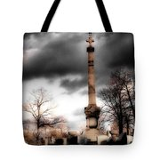 Gothic Clouds Tote Bag