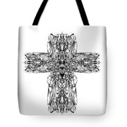 Gothic Cross Tote Bag