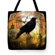 Gothic Fish Eye Tote Bag