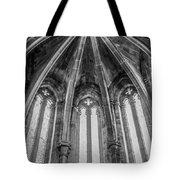 Gothic Monastery Tote Bag