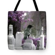 Gothic Purple Tote Bag