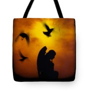 Gothic Silhouette Tote Bag