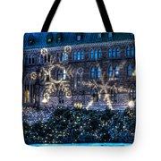 Gothic Snowflakes Tote Bag