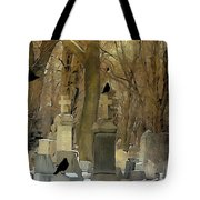 Gothic Splash Tote Bag