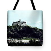 Gothic St Michael's Mount Cornwall Tote Bag