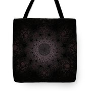 Gothic Stained Glass - Black Tote Bag