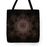 Gothic Stained Glass - Sepia Tote Bag