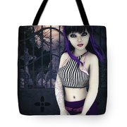Gothic Temptation Tote Bag