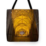 Gothic Vault Of The Seville Cathedral Tote Bag