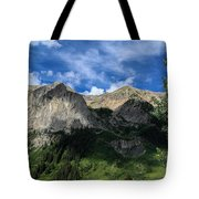 Gothic With Aspen Tote Bag