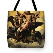 Gottvater In Wolken Tote Bag