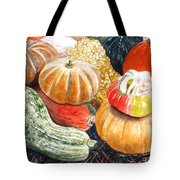 Gourds Tote Bag by Carol Flagg