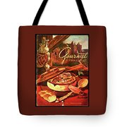 Gourmet Cover Featuring A Pot Of Stew Tote Bag