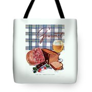 Gourmet Cover Featuring Bread Tote Bag