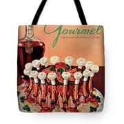 Gourmet Cover Illustration Of A Crown Roast Tote Bag
