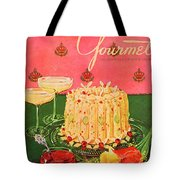 Gourmet Cover Illustration Of A Molded Rice Tote Bag