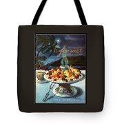 Gourmet Cover Illustration Of Fruit Dish Tote Bag