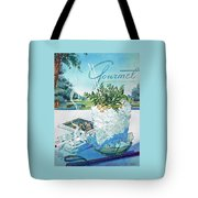 Gourmet Cover Illustration Of Mint Julep Packed Tote Bag