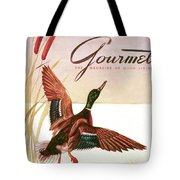 Gourmet Cover Of A Goose Tote Bag
