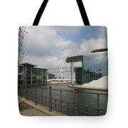 Government Building And Spree Tote Bag