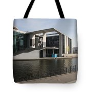 Government Building  Berlin  Tote Bag