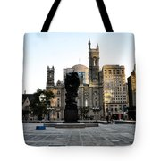 Government Of The People Statue Tote Bag