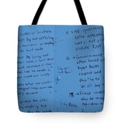 Government Rules  Tote Bag