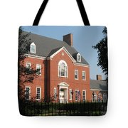 Governor House Annapolis Tote Bag