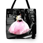 Gown Of Pink Tote Bag