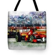 Gp Singapore F1  Tote Bag