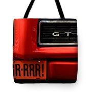 Gr-rrr Gto Tote Bag