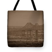 Grace And Pearman Bridges Tote Bag