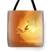 Mississippi Kite - Beauty Into The Light Tote Bag