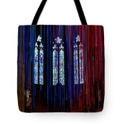 Grace Cathedral With Ribbons Tote Bag